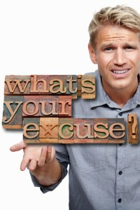 (Lame) Reasons People Commonly Give for Not Exercising
