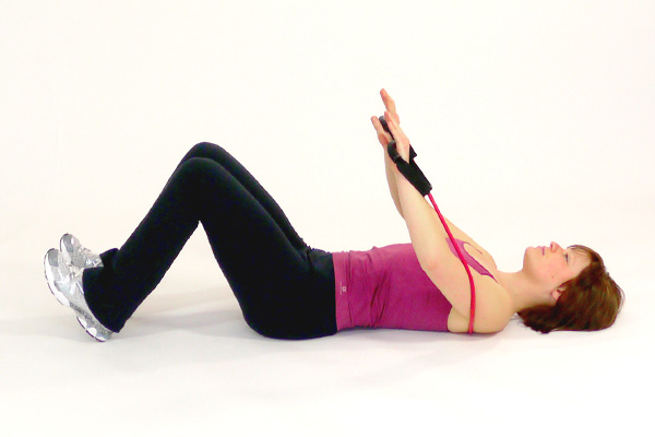 Abdominal Crunches with the Exercise Tube