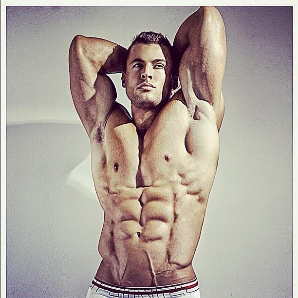 IFBB Men's Physique Pro Ryan Hughes