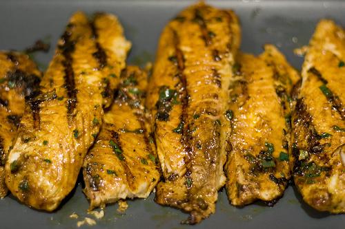 Asian Grilled Tilapia